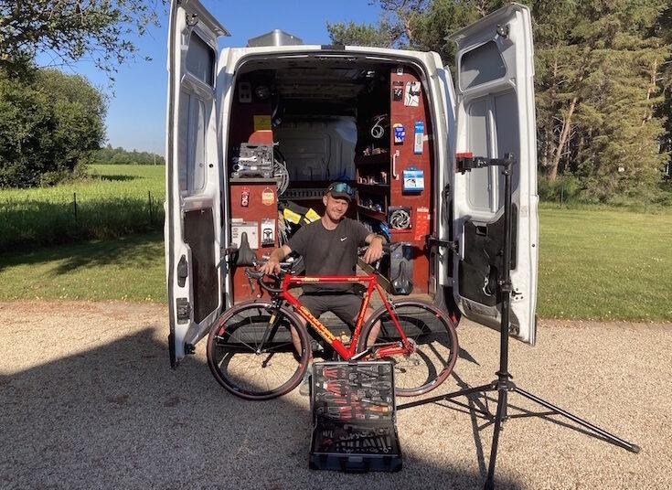 Émile Bourdonnais Happy Cyclette