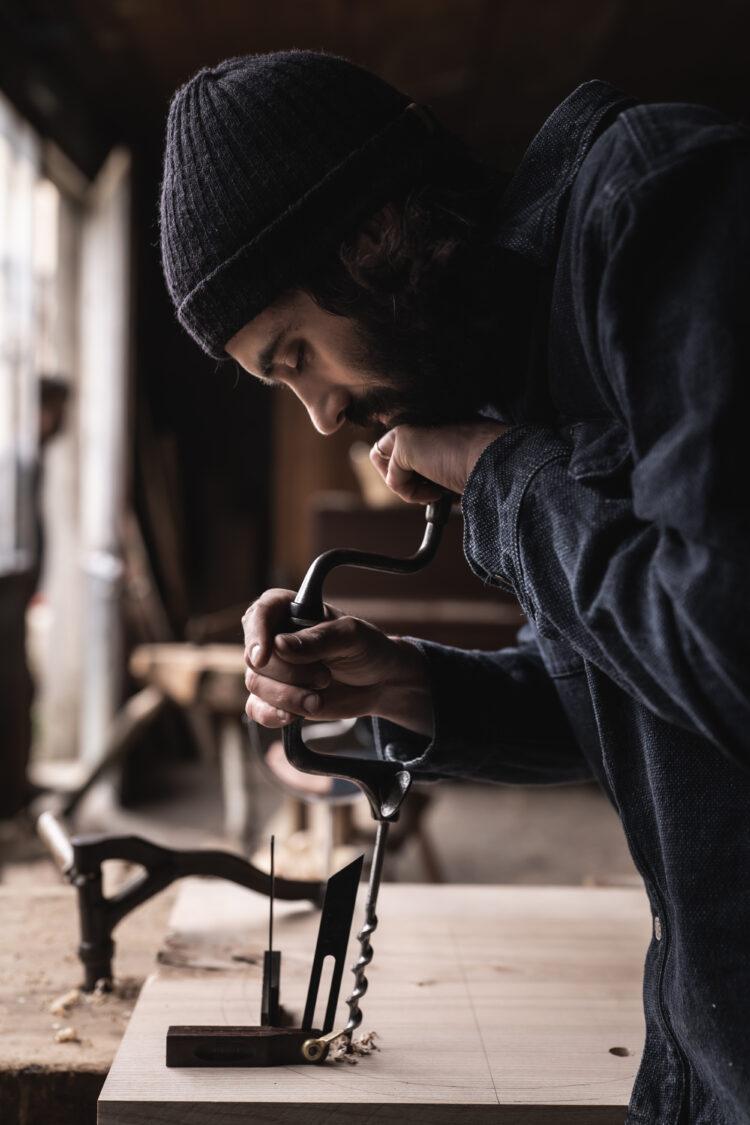 L'artisan chaisier Félix Bouchet - © Anne-Claire Héraud